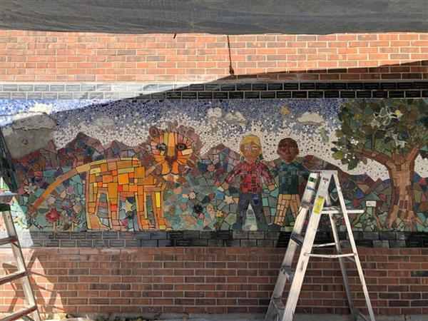 Watch our New Mosaic Being Completed!